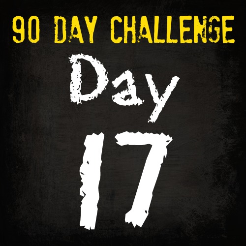 90 Day Fitness Challenge- DAY 17