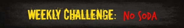 Free HIIT Mamas 90 Day Fitness Challenge- WEEKLY CHALLENGE: soda