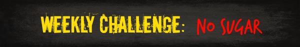 Free HIIT Mamas 90 Day Fitness Challenge- WEEKLY CHALLENGE: sugar