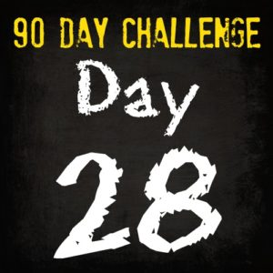 Free HIIT Mamas 90 Day Fitness Challenge- DAY 28
