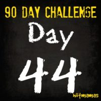 Free HIIT Mamas 90 Day Fitness Challenge- DAY 44