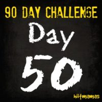 Free HIIT Mamas 90 Day Fitness Challenge- WEEKLY CHALLENGE LIST