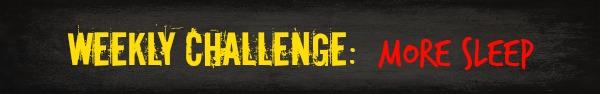 Free HIIT Mamas 90 Day Fitness Challenge- WEEKLY CHALLENGE- more sleep